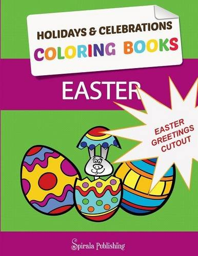 Greetings: Color and Cut Out Your Special Easter Greetings: Coloring Pages and Cut Outs for Kids (Ostern Cut Outs)