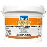 Herboflex Spachtel Elastische Spachtelmasse, 7 kg in graubeige