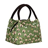 Higawin Portable Lunch Tasche Lunchbox Green Forest
