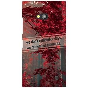 Nokia Lumia 730 Phone Cover - Beauty of Nature Matte Finish Phone Cover