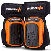 Thunderbolt Tools Pro Knee Pads for Work, Construction, Flooring, Cleaning, Carpentry, Drywall, Cleaning, Gardening.