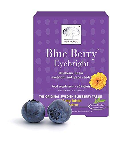 Blueberry Blue (Neue Nordic Blueberry Augentrost 60 Tabletten)