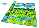 100% nuovo Colore: Multi-color Dimensioni: 200 x 180 cm e 5 mm di spessore Materiale: OPP + Cotton PE Flessibile e morbido Igiene e sicuro Impermeabile e facile da pulire
