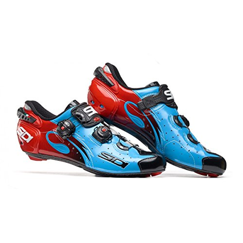 Chaussures route WIRE CARBON 2017 Running Trail Sidi bleu/noir
