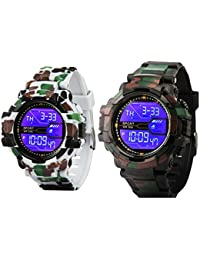 Addic Combo Of Two Digital Sports Watches For Men's & Boys.- CW895