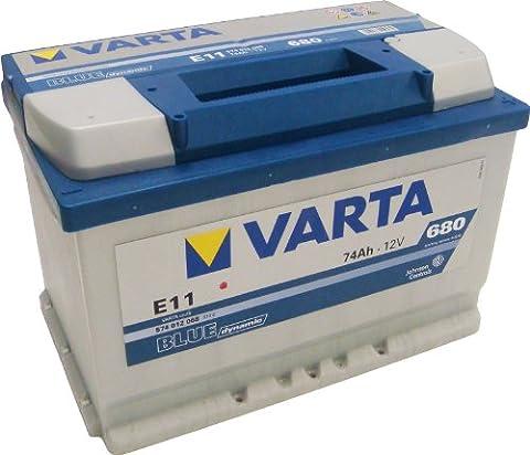 Varta Blue Dynamic Autobatterie E11 574 012 068 74Ah 680A (Plymouth Turismo)