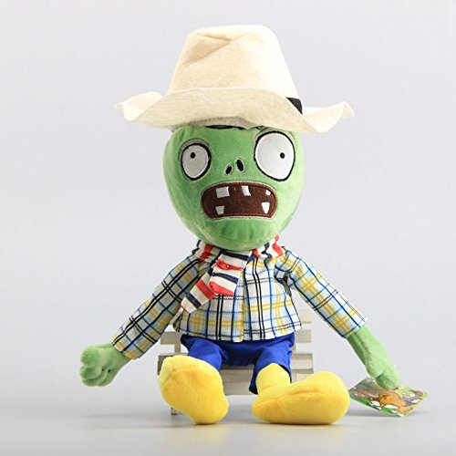 Pirate Zombie White Hat Pirate Seas 12 Inch Toddler Stuffed Plush Kids Toys PVZ
