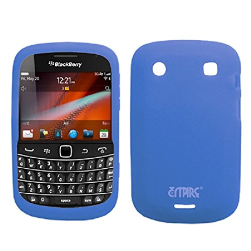 EMPIRE Blau Silicone Skin Case Tasche Hülle Cover for Verizon BlackBerry Bold 9930 Verizon Blackberry Bold