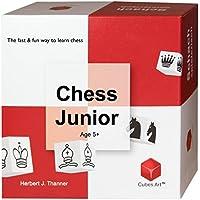 Cubes.Art 7990EN - Chess Junior, Juego de ajedrez para niños de 5 años en adelante [Inglés]