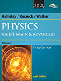 Wiley's Halliday / Resnick / Walker Physics for JEE (Main & Advanced), Vol 1, 3ed, 2021