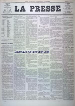 PRESSE (LA) [No 227] du 19/08/1881