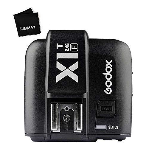 Godox x1t-f TTL wireless flash Trigger trasmettitore per Fujifilm fotocamere DSLR 1/8000s HSS 2.4G trasmettitore wireless 32canali