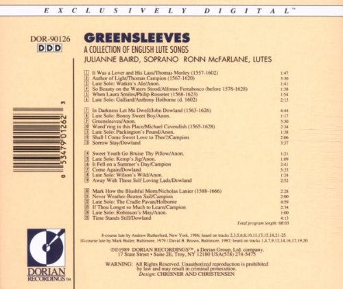 Greensleeves [Import USA]