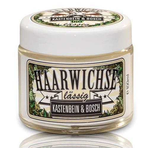 Bio cheveux wichse Lässig – Cheveux/cheveux à la cire Wax pour jardinière de structure et résistance – Soins des cheveux & Cheveux Styling Décontractée de jambes & Bosch (1 x 50 ml)