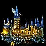 ZUJI Kit di Illuminazione a LED per Lego Harry Potter Castello di Hogwarts (71043)