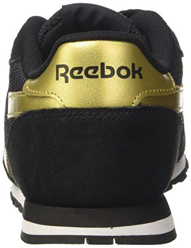 Reebok Royal Ultra Sl, Sneaker Basses Femme Noir (Black/gold Met/white)