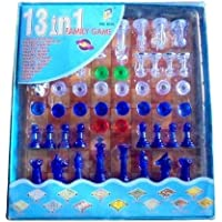 HS INTERNATIONAL 13 in 1 Magnetic Ludo Chess Snacks and Ladders Set Board Game for Family,Kids,Boys,Girls (13 in 1…
