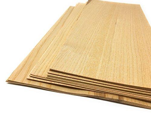 15-17 Furniere in der Holzart Esche. Furnier geeignet für: Modellbau, Ausbesserungsarbeiten, Restauration, zum Basteln, Intarsien