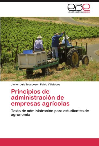 Principios de administración de empresas agrícolas