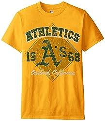 MLB Oakland Athletics Men's 58J Tee, Gold, XX-Large