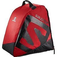 Salomon Bolsa para equipo de esquí, 40 l, original bootbag, rojo (Barbados Cherry) y negro