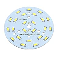 Deal Mux 78 mm Dia 12 W 5730 SMD 24 LED pure White LED plafonnier aluminium Planche