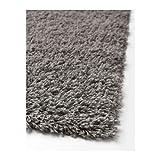 Ikea HAMPEN Langflor Teppich in grau; (80x80cm)