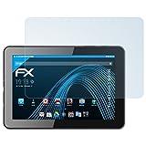 atFolix Schutzfolie kompatibel mit bq Edison 3 WiFi/3G Folie, ultraklare FX Bildschirmschutzfolie (2X)