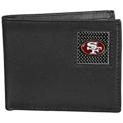 NFL San Francisco 49Ers Leather Gridiron Bi-Fold Wallet