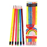 12 pieces HB Pencils-Pencil HB with rubber,with 2.65mm - Best Reviews Guide