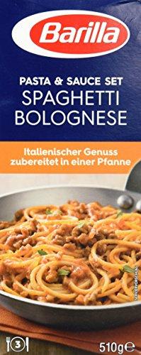 Preisvergleich Produktbild Barilla Pasta & Sauce Set für Spaghetti Bolognese – 1er Pack (1x510g)