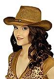 narrenkiste K10157846 T2834 braun Hut Cowgirl Westernhut