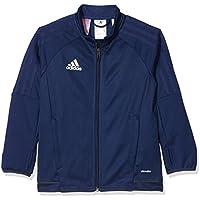 Adidas Tiro17 TRG Jkty Chaqueta, Niños, Azul (azuosc/Griosc / Blanco), 152 (11/12 años)