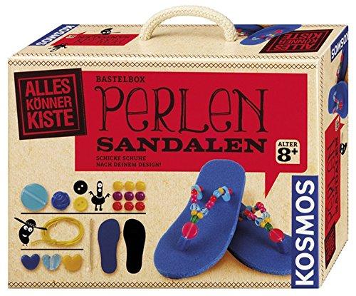 Preisvergleich Produktbild Kosmos 604103 - AllesKönnerKiste, Perlen-Sandalen
