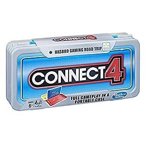 Hasbro Gaming Road Trip Series Connect 4 vídeo Juego