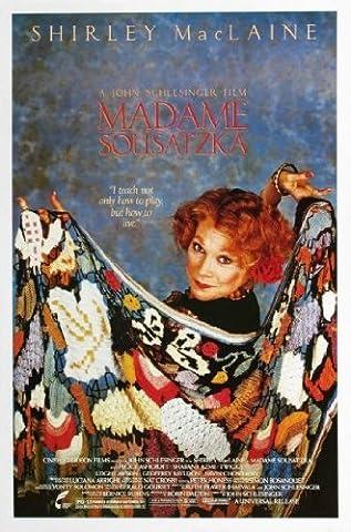 Madame Sousatzka Movie Mini poster 11inx17in 28 cm x 43 cm