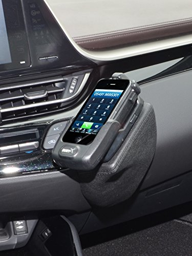 KUDA 2745 Halterung Kunstleder schwarz für Toyota C-HR ab 2016