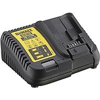 DeWALT DCB115-QW Intérieur Noir, Jaune chargeur de batterie - chargeurs de batterie (10.5 - 18 V, 5 Ah, 4 A, Noir, Jaune, Indoor battery charger, Lithium-Ion)