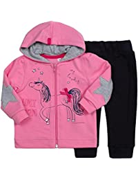 Be Mammy Conjunto Jersey y Pantalones Ropa Bebé Niña Unicorn 7302