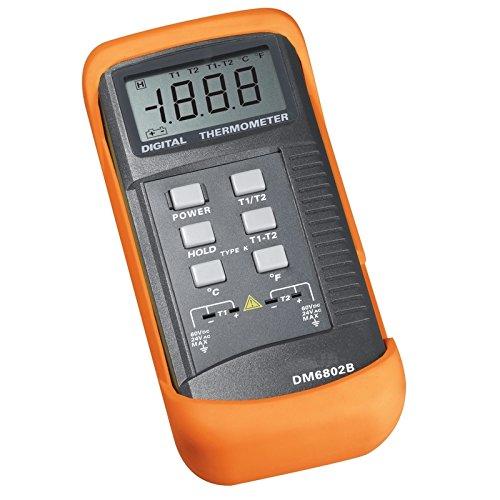 SANPO - SENSOR DE TERMOPAR TERMOMETRO DURABLE DIGITAL -50C - 1300C / -58F - 1999F
