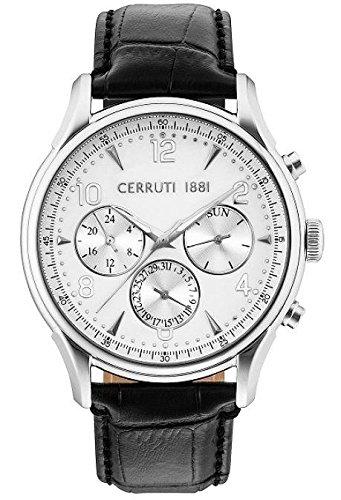 Cerruti 1881 CRA107SN01BK Montre à bracelet pour homme
