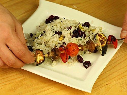 Clip: Vegetable Kebabs with Pilaf