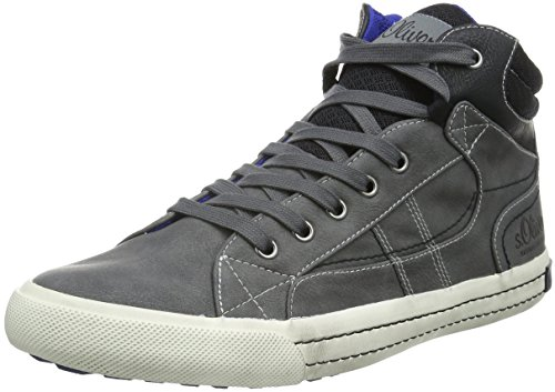 s.Oliver Herren 15200 Low-Top Grau (GREY 200)