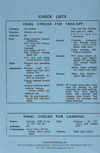 English Electric Canberra B2 (Pilot's Notes)