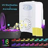 YOUNICER Erweiterte 16-Farben-Bewegungsmelder UV-UV-Desinfektion LED Toilettenschüssel Nachtlicht, interner Speicher, Lichtdetektion