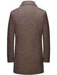 Amazon.it  cappotto lana uomo - Cappotti   Giacche e cappotti  Abbigliamento 16c5fc0c0b1
