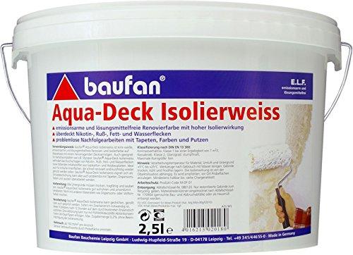 Baufan Aqua-Deck Isolierweiss 2,5 l (Aqua Deck)