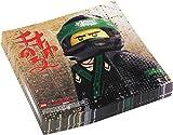 LEGO Ninjago Servietten 33x33cm 20 Stück