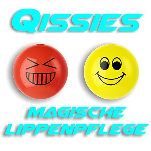 La qissies de pureq I labio Cuidado y labio color en una bola I la Smiley en 4colores aufregenden I 2Bolas (Smile & Giggle)