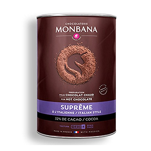 Chocolat en poudre 'Suprême de chocolat' - Monbana (1Kg)